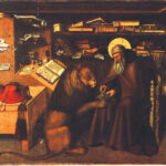 """""""San Girolamo e il leone"""" di Colantonio visto da Zbigniew Herbert"""